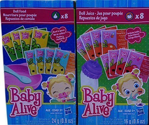 Baby Alive Doll Food Amp Juice Accessory Pack Baby Alive