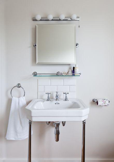 Victorian washstand from Burlingtons mirror from Samuel Heath