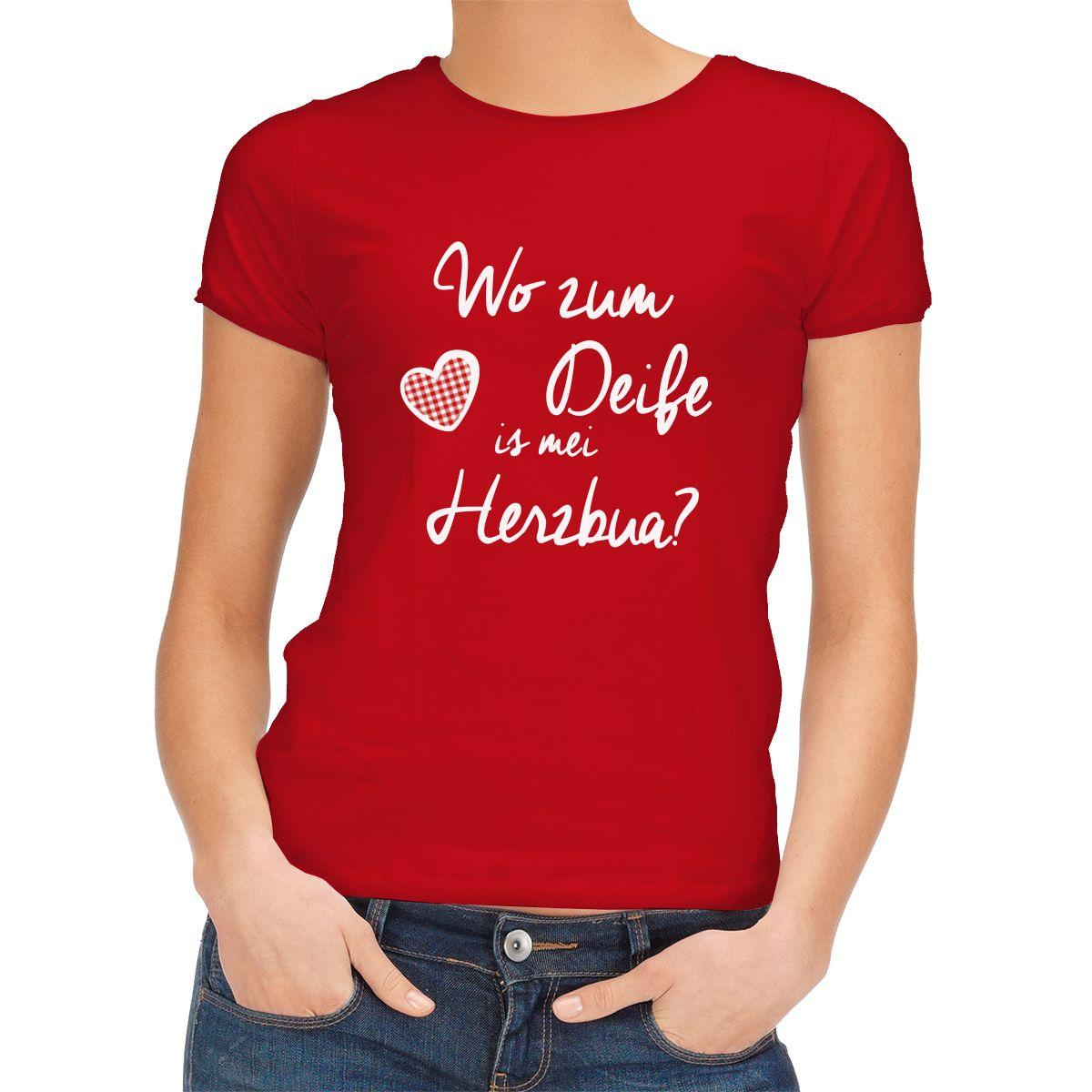 http://trachtenmode-dirndl-lederhosen.de/t-shirts/226-trachten-t-shirt-rot-wo-zum-deife-is-mei-herzbua-.html