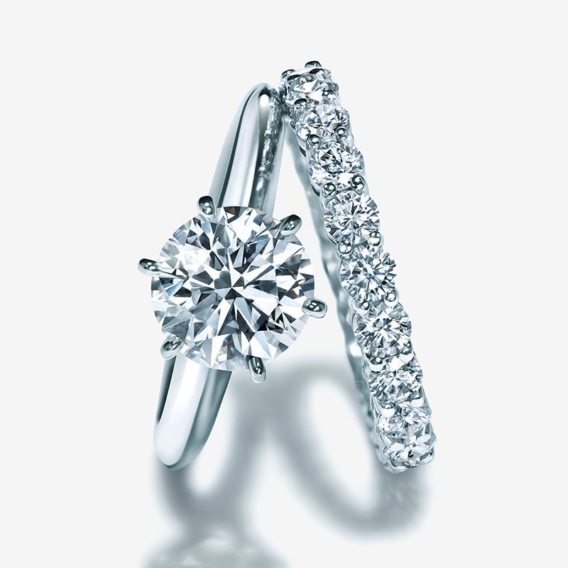 Love is…the one. The Tiffany® Setting truly symbolizes the
