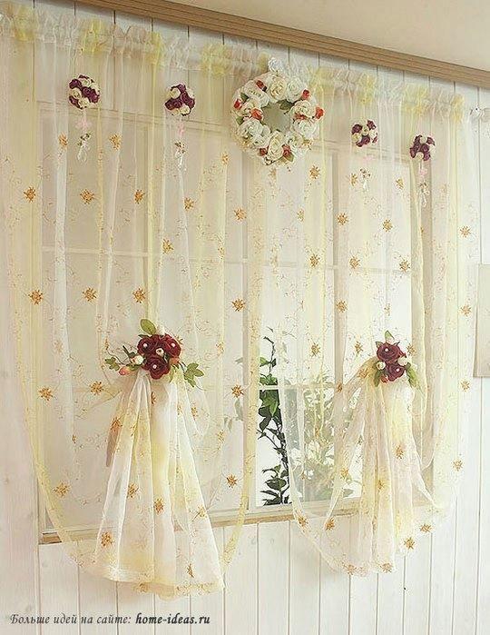Ideias de cortinas rom nticas ideias de cortina mundo for Cortinas romanticas