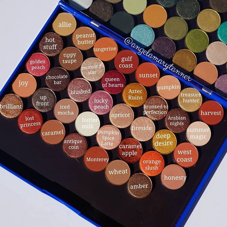 Sydney Grace Eyeshadows (56) . . Palette number two of