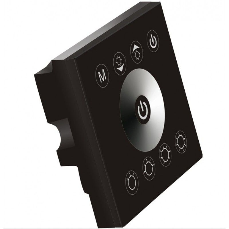 Touch Panel Dimmer for 3528/5050-Single-Color-LED-Strip 2-Channel 4A/Ch DC-12V-24V #touchpanel