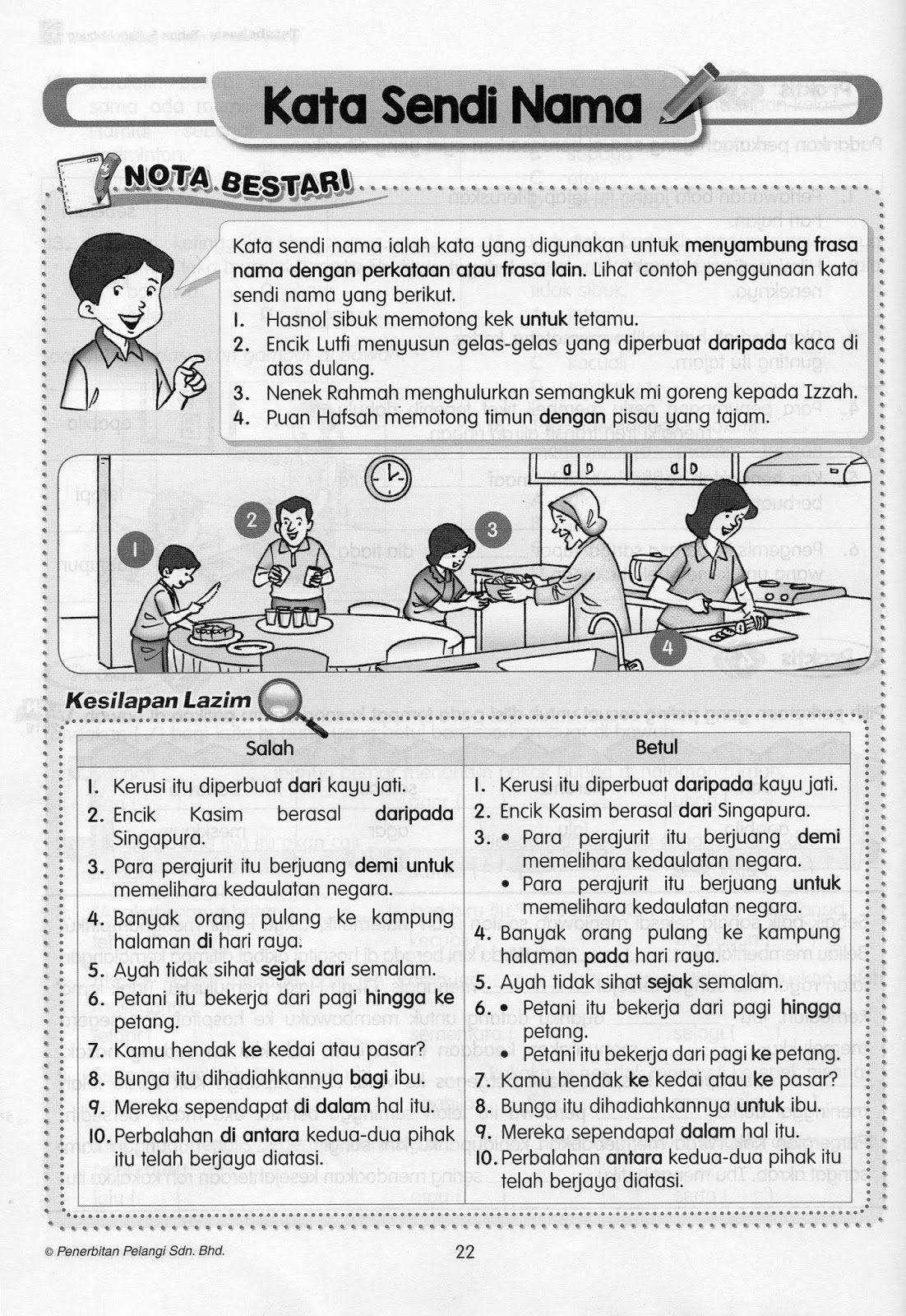 Nota Tatabahasa Bahasa Melayu In