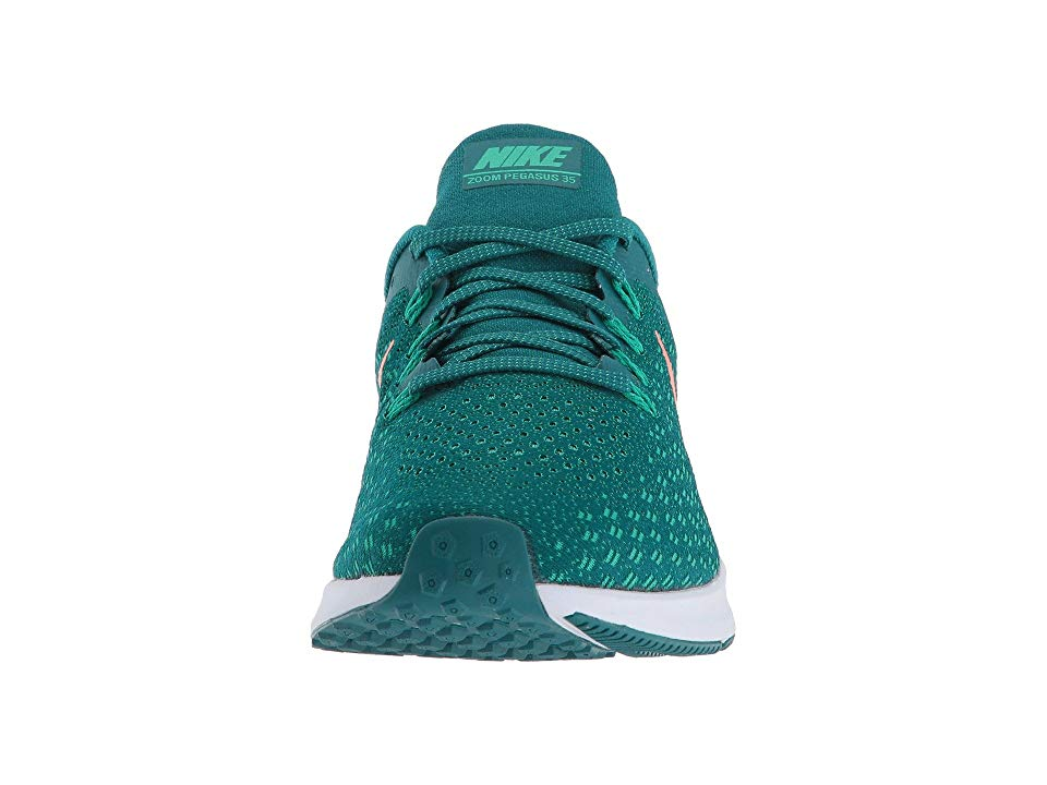3994fe9dca87 Nike Air Zoom Pegasus 35 Men s Running Shoes Geode Teal Bright Mango Clear  Emerald
