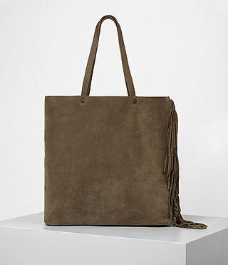 ALLSAINTS 클럽 뉴 레아 프린지 토트. #allsaints #bags # #