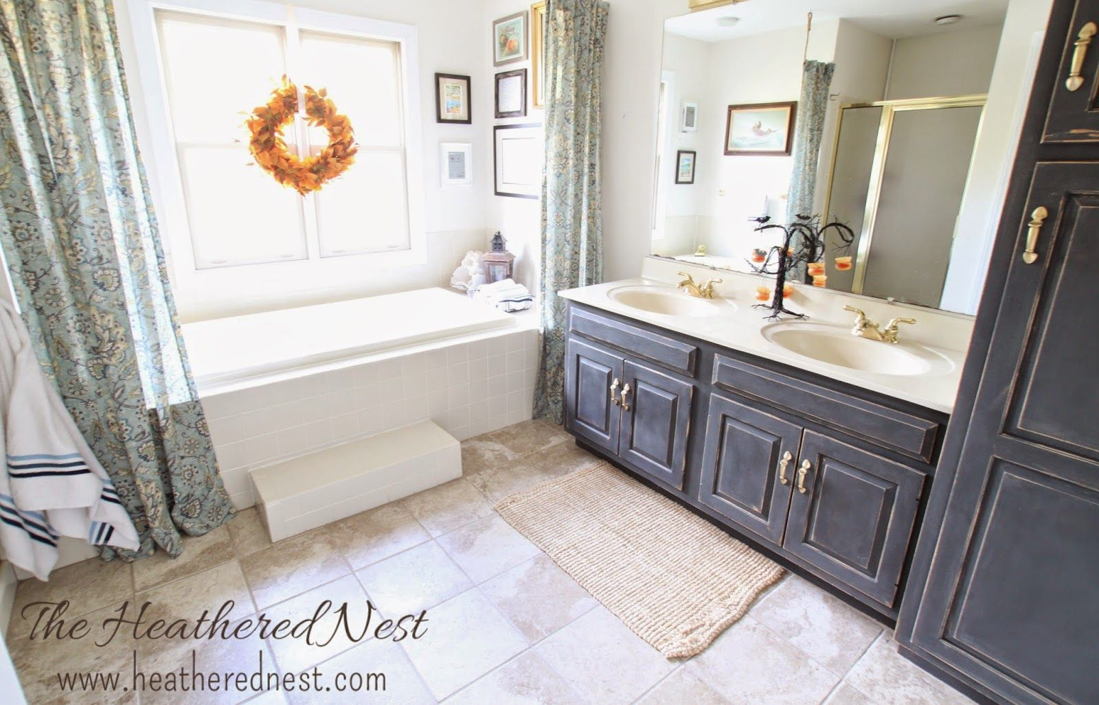 Heathered Nest Master Bath Makeover - for $0