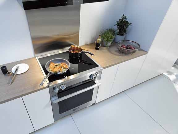 Bosch Benchmark Vs Miele Slide In Induction Ranges