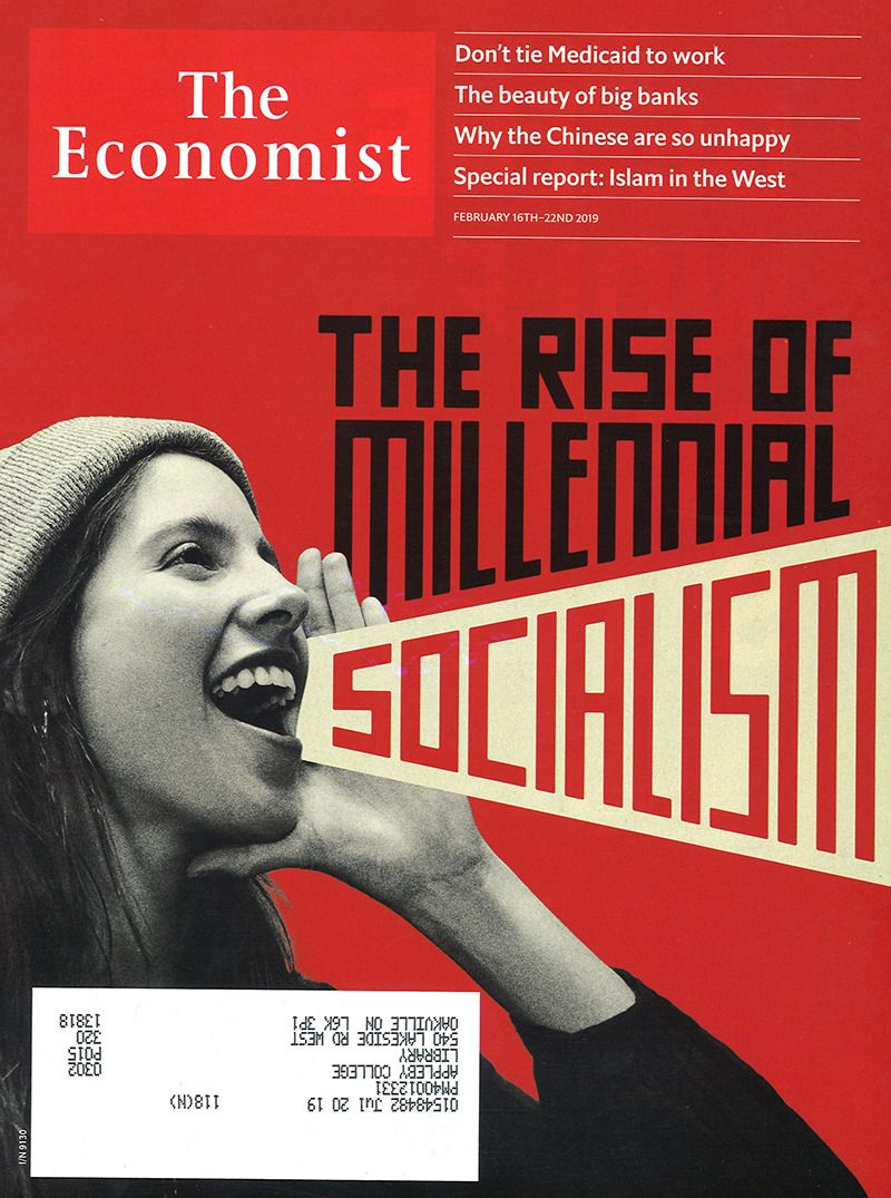 The Economist February 16th - 22nd, 2019   New Magazines   News