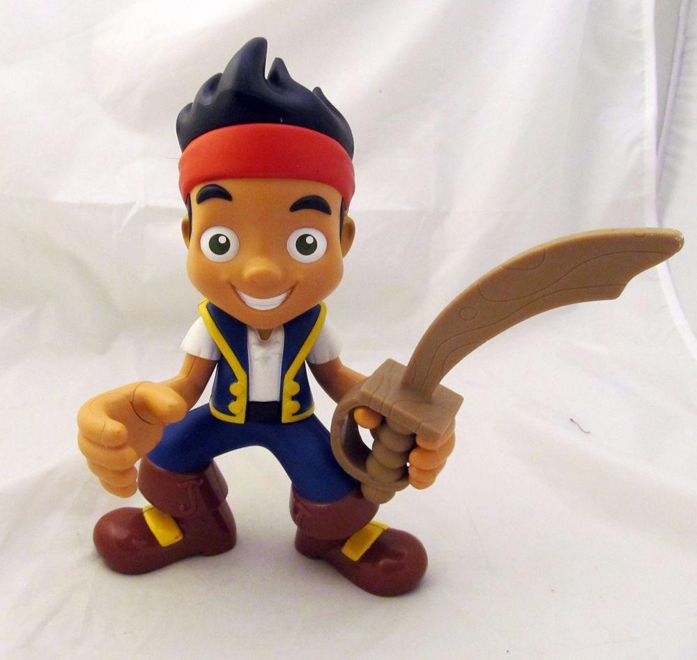 "9"" Mattel Disney Junior Jake and the Neverland Pirates Action Figure Doll Toy  #Disney"