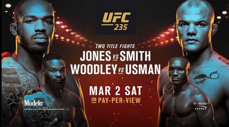 UFC 235 EN VIVO vía FOX Sports Jon Jones vs. Anthony
