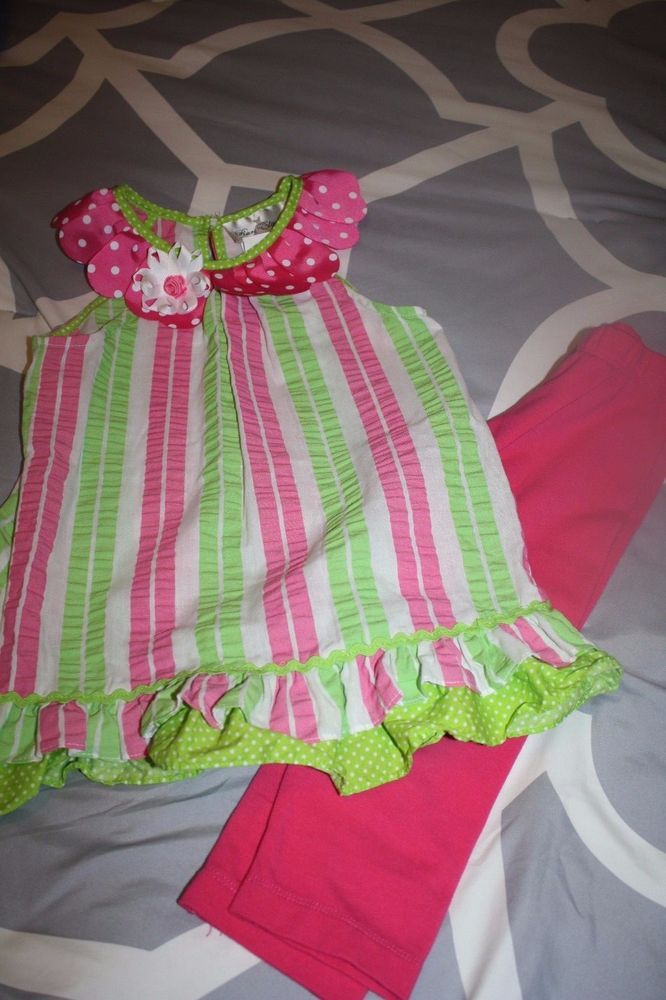 Girls Rare Editions 2 pc set sz 4 SUPER CUTE pink think EASTER #RareEditions #Everyday