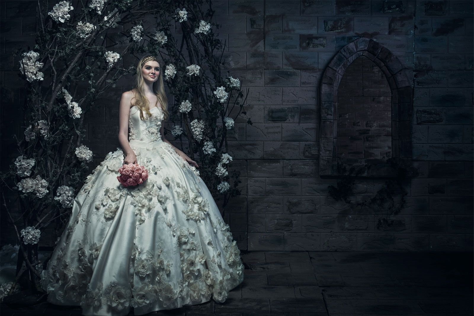 wedding pengantin, sewa baju bridesmaid jakarta, swarovski
