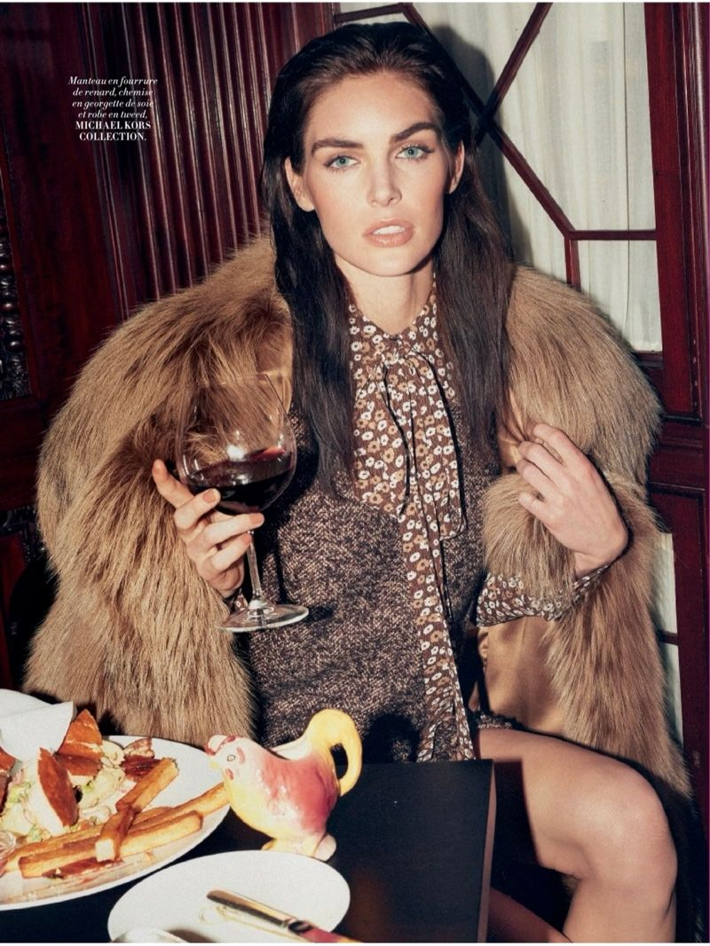 Hilary Rhoda Brings the Fall Collections to New York for L