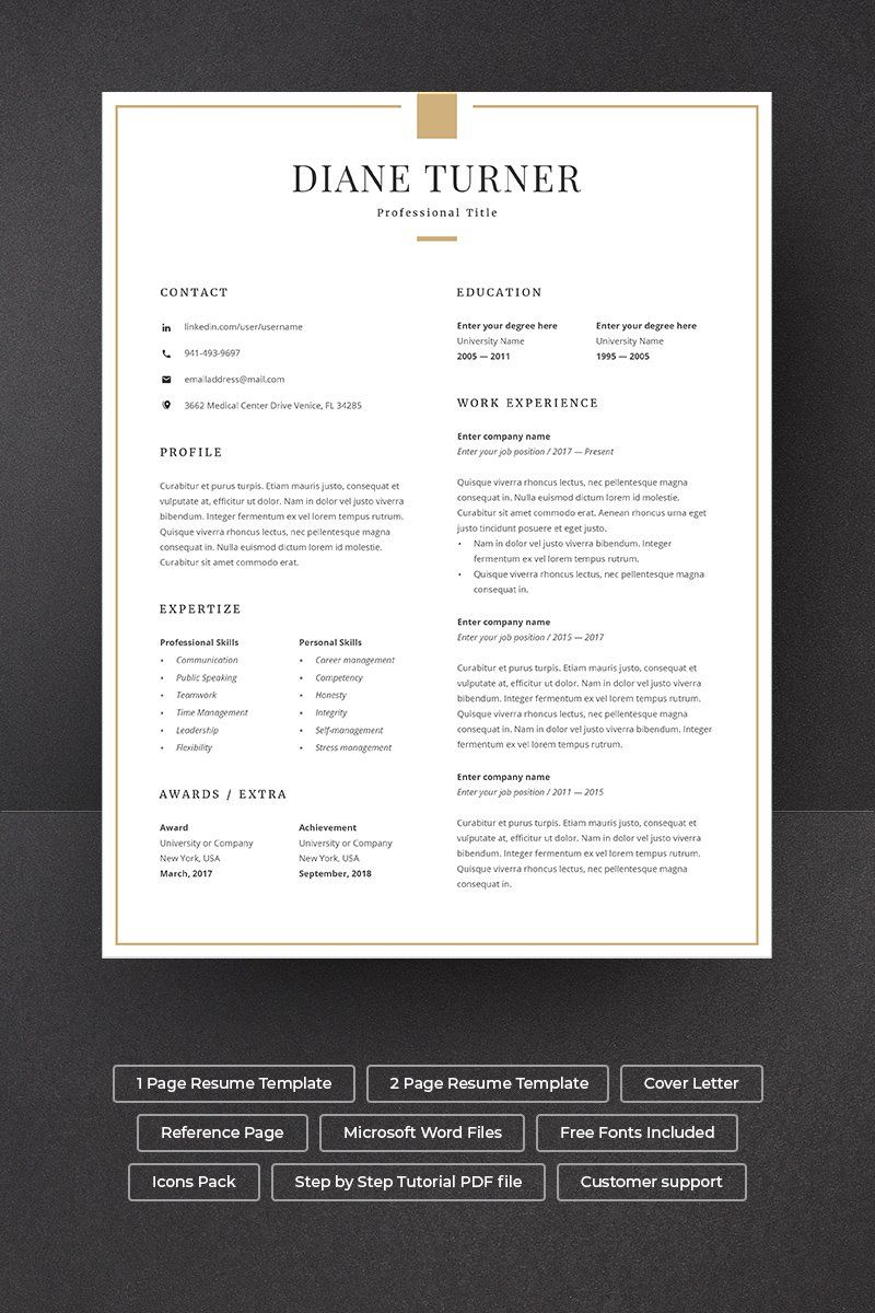 Lawyer Resume Template 83196 in 2020 Resume template