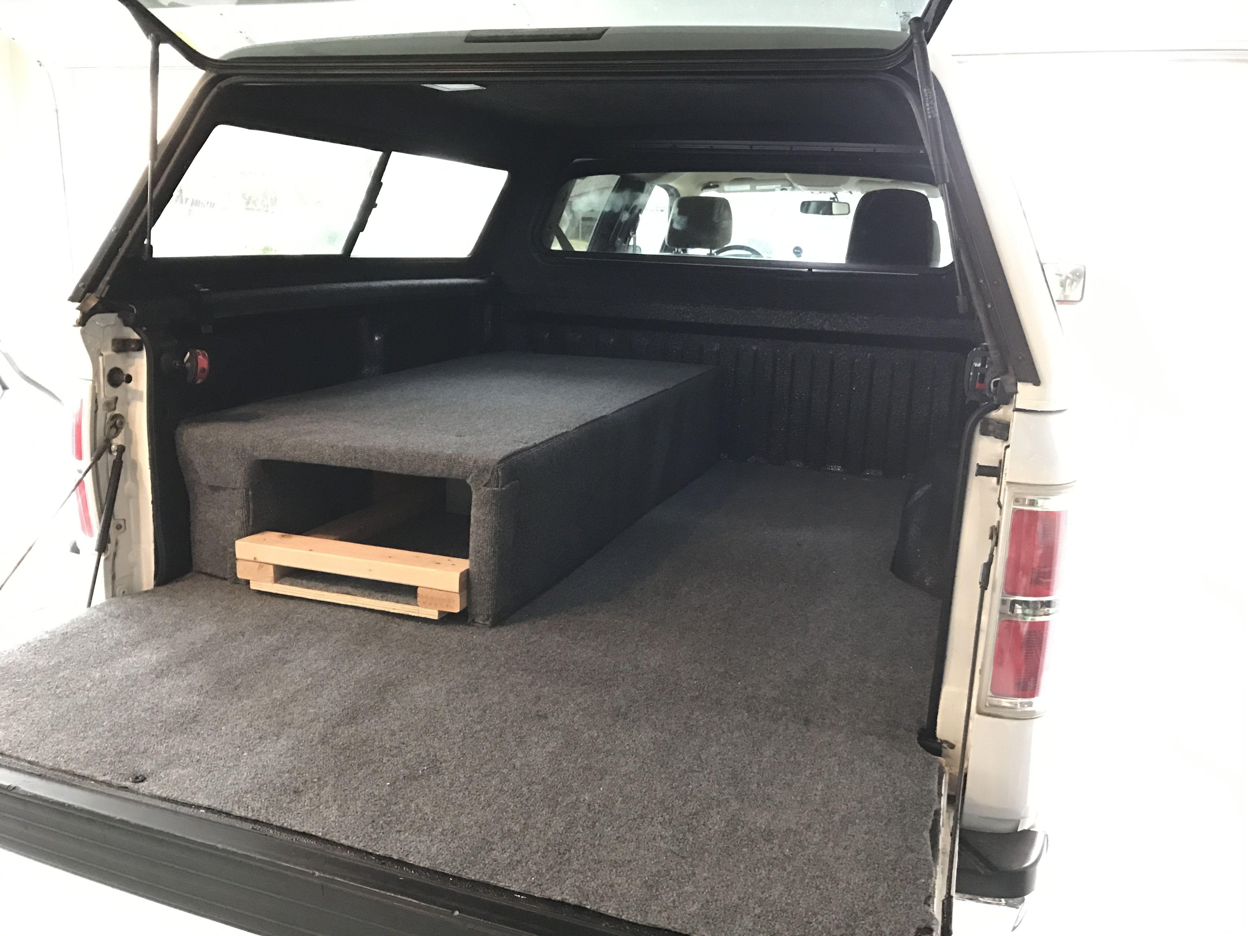 Pin by Jack Acosta on DIY hidden truck storage/camper bed