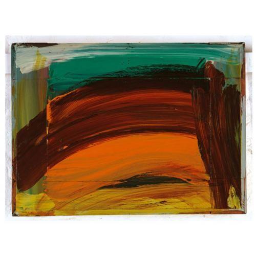 Howard Hodgkin Artist First Light 2005 Oil On Wood 14 X 20 37 8 X 51 4cm Howard Hodgkin Abstract Painting Abstract