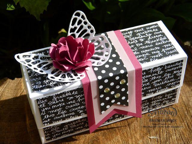 Lindas Box - mit Anleitung #briefumschlagbasteln