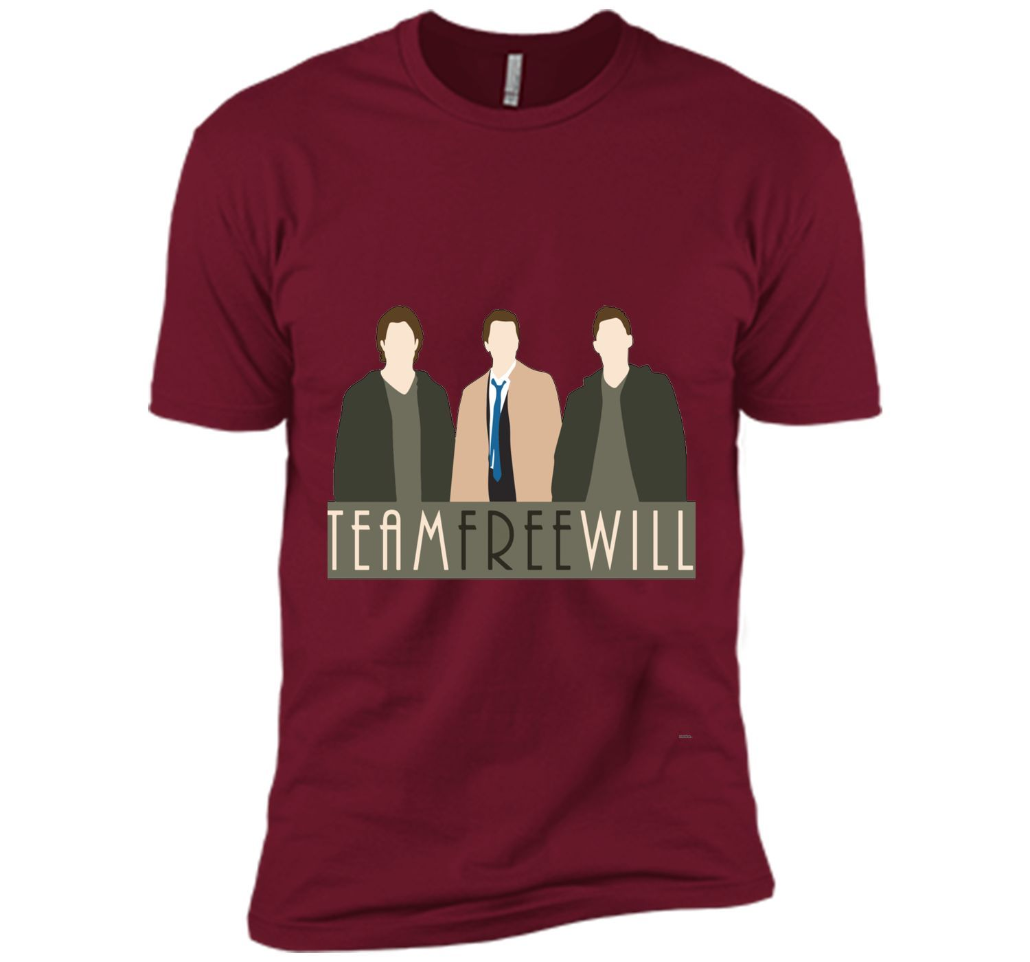 Team Free Will tshirt