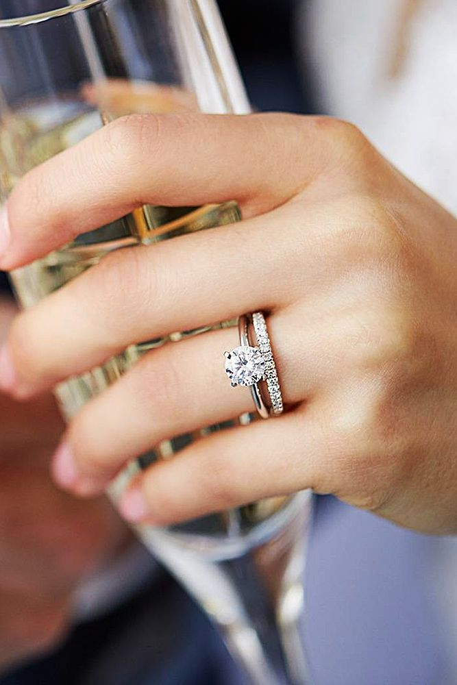33 Best Diamond Wedding Rings For Real Women   Wedding Forward is part of Wedding rings - Diamond wedding rings have always been a symbol of elegance, style and beauty  We've collected the most popular ideas  Click to find inspiration!
