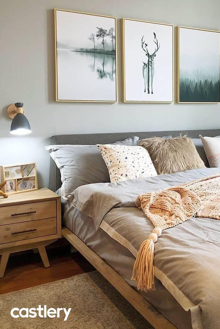 43 Simple Bedroom Feel Cozier Than Before En 2020 Deco Chambre A