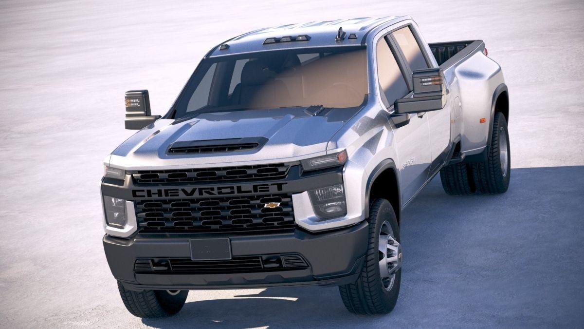 2021 Chevrolet Silverado 3500HD Will Offer More Security ...