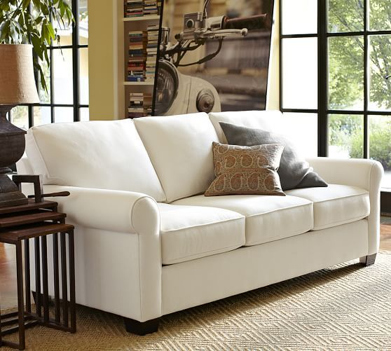Buchanan Roll Arm Upholstered Sofa Simple Living Room Designs