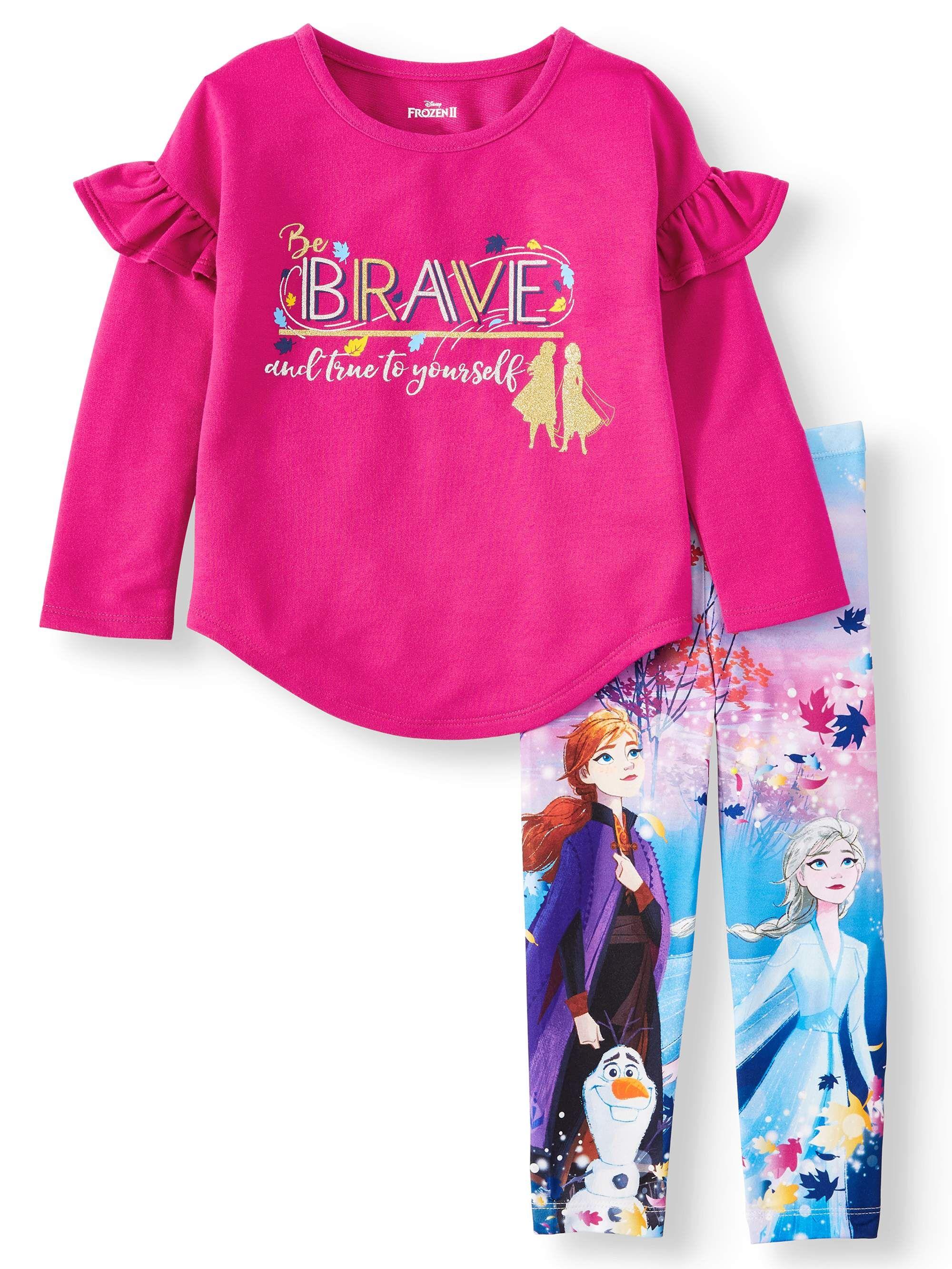 Disney Little Girls Frozen 2-Piece Legging Set