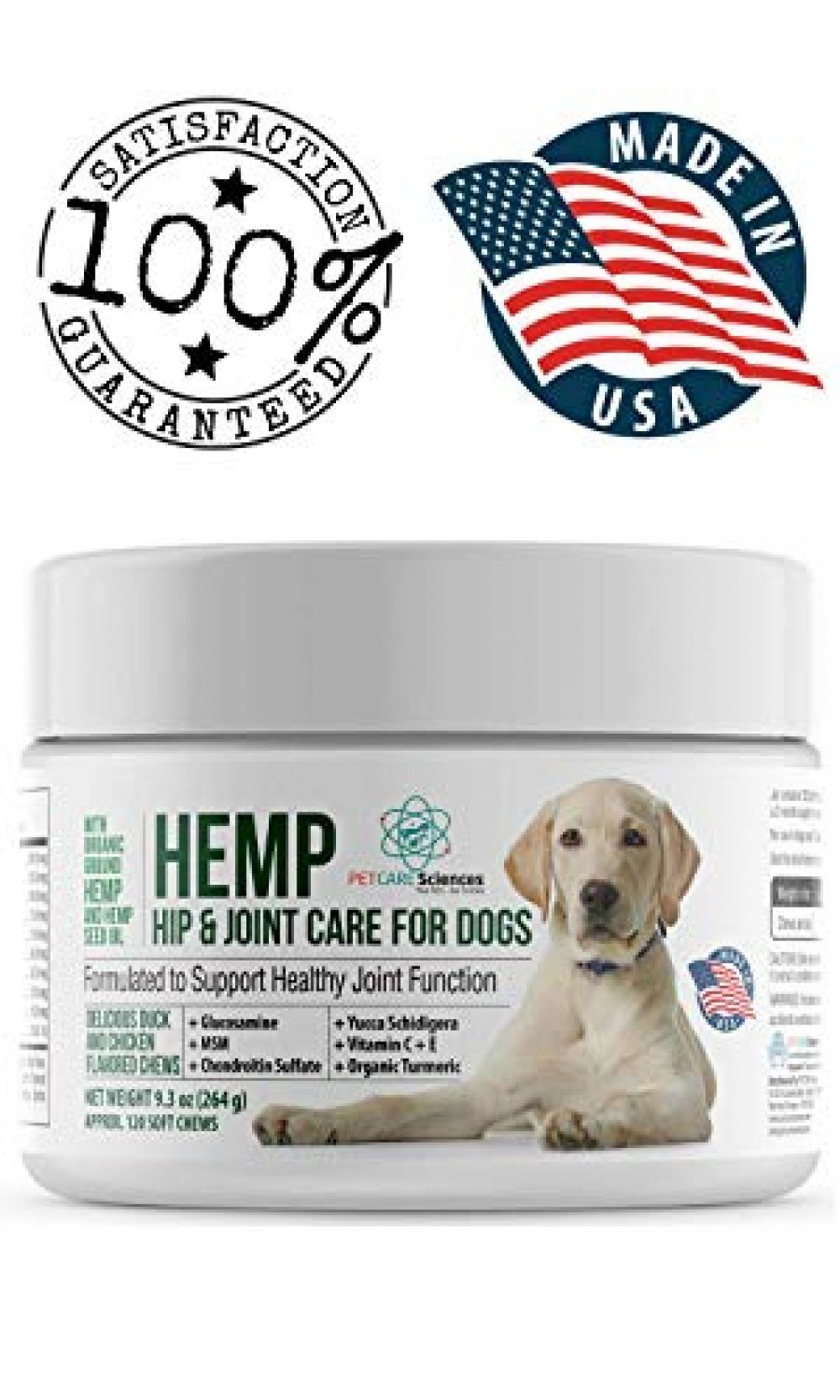 LEGITPET Hemp Hip & Joint Supplement for Dogs 120 Soft