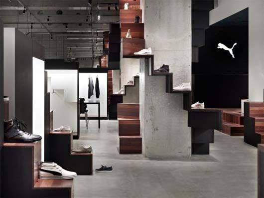 PUMA Shoes Store Interior Decoration by Nendo 3 PUMA Shoes Store Interior Decoration by Nendo 4