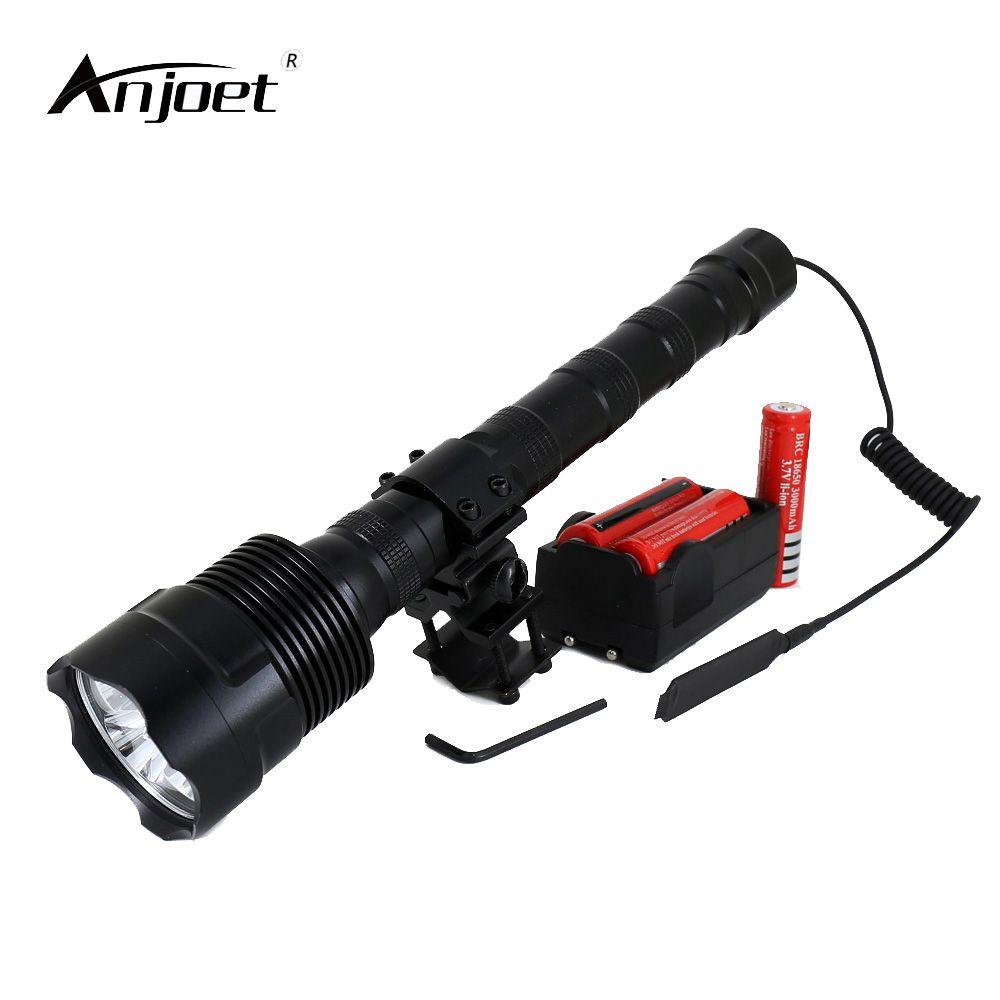 6000lm LED Baseball Bat Flashlight Self Defense Super Bright 18650 Battery Torch