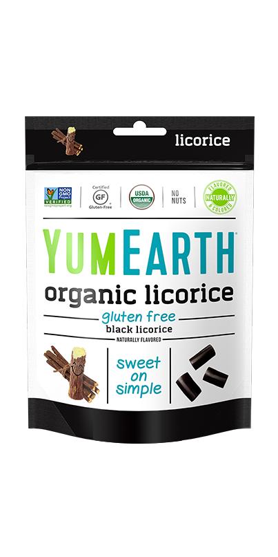 YumEarth Organic Black Licorice | Black licorice, Gluten ...