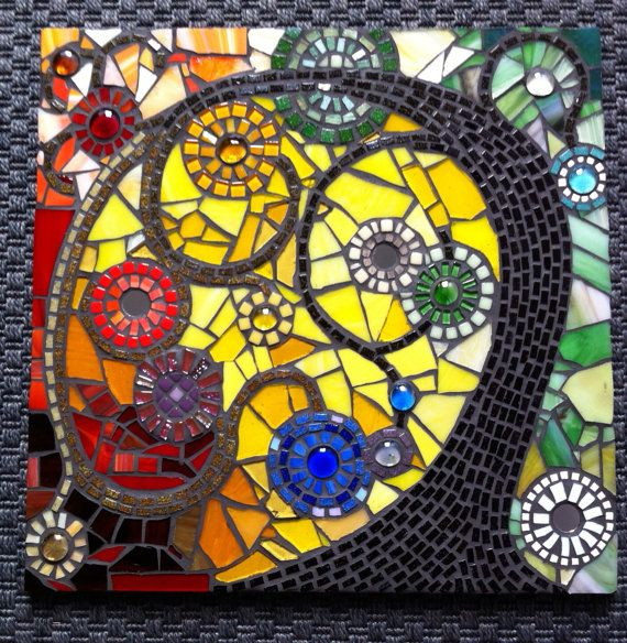 Tree of Life - Mosaic Art Wall Hanging by BlackFishes | Mosaic ...