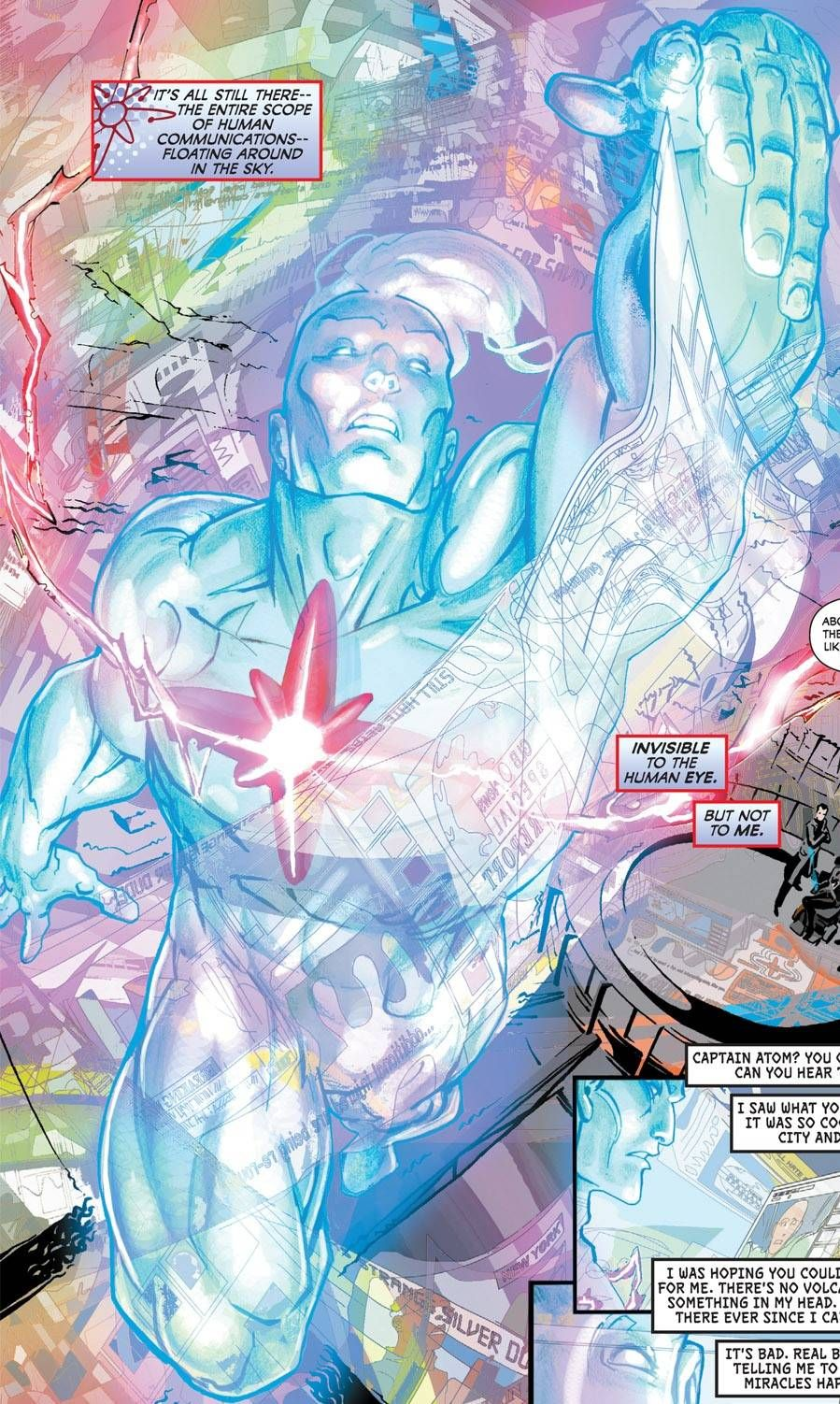 Captain Atom Screenshots Images And Pictures Comic Vine