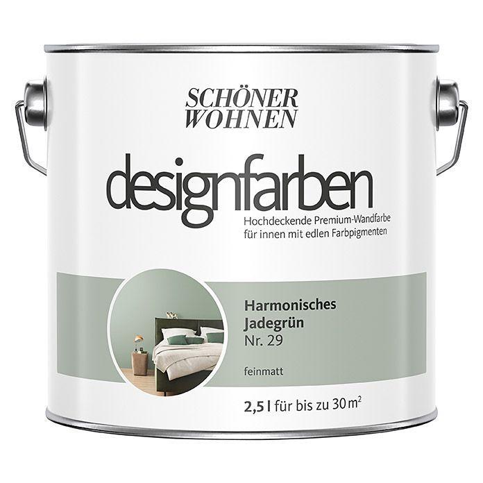 Schoner Wohnen Wandfarbe Designfarbe Harmonisches Jadegrun 2 5 L Feinmatt Schoner Wohnen Wandfarbe Designfarbe H In 2020 Eldred House Design Electric Kettle