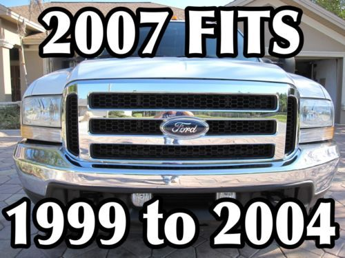 F 250 Ford F 250 F350 F 450 Grill Conversion Fits 1999 2004 And Excursion Ebay Ford Excursion F250 Ford