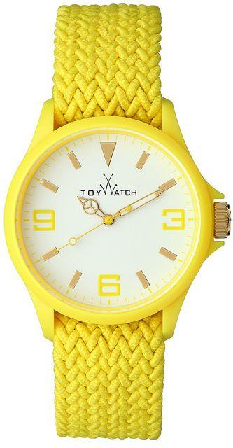 ToyWatch with bright yellow. Eyecatcher!