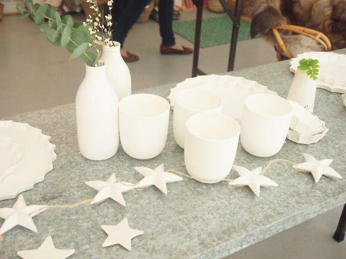 Epure Céramique - Etoiles - bouteilles de lait