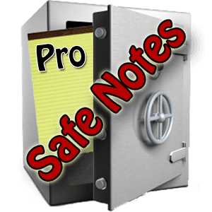 Safe Notes Pro Secure NotePad Safe Notes is a notepad