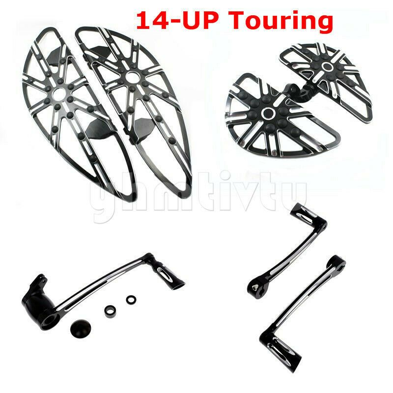 For Harley Electra Glide Tour Glide Rear Motorcycle Foot Pegs Footrest Bracket
