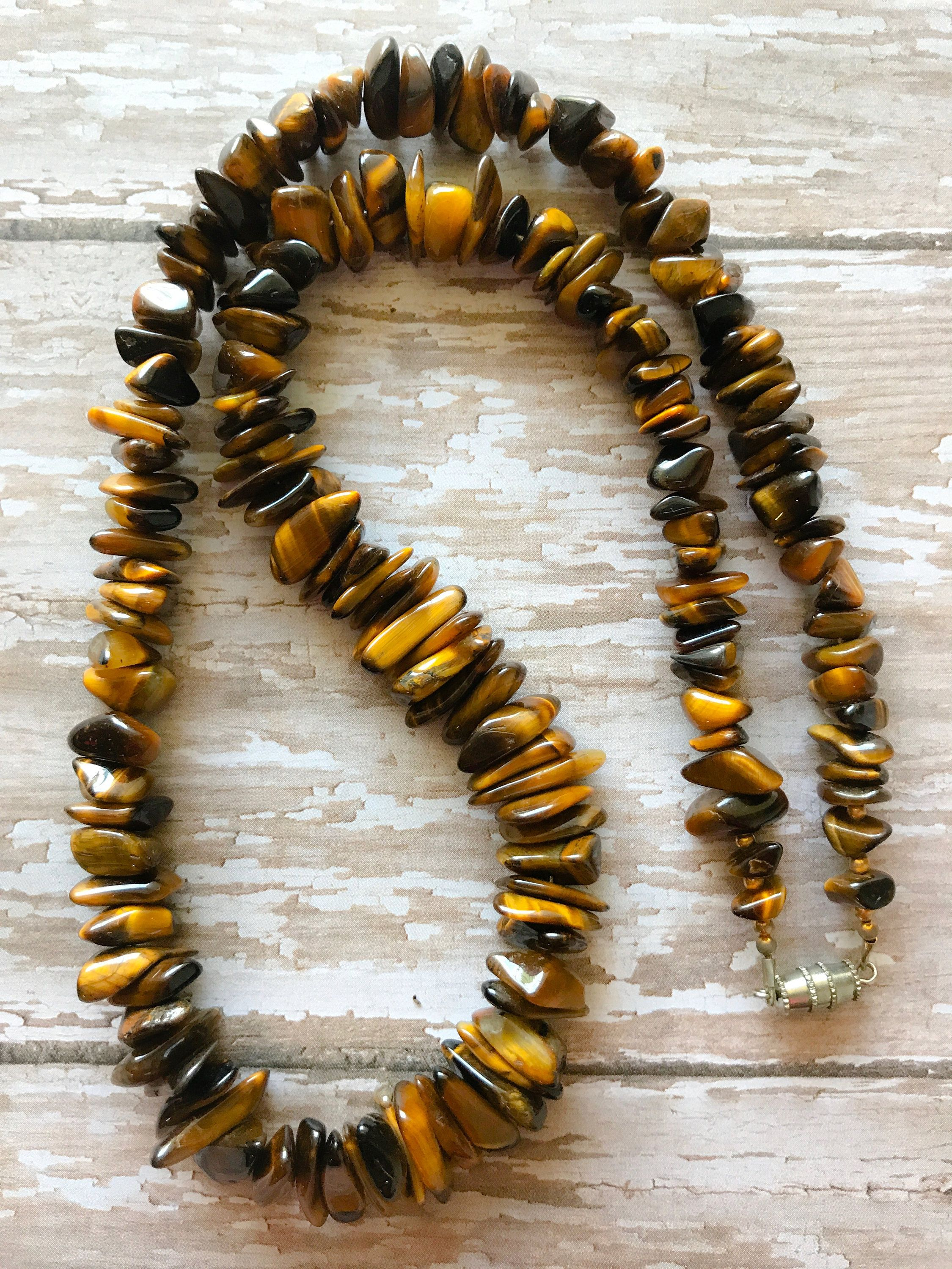 statement listing bespoke choker necklace eyki gemstone jewellery tiger fullxfull il chakra eye crystal macrame gift healing