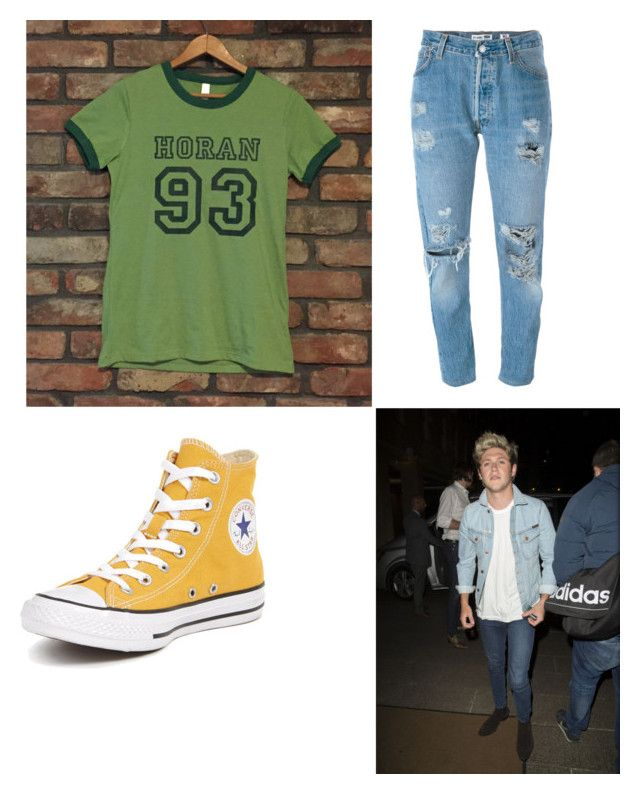 """Horan"" by tayjayne8 on Polyvore featuring Levi's, Converse and Nudie Jeans Co."