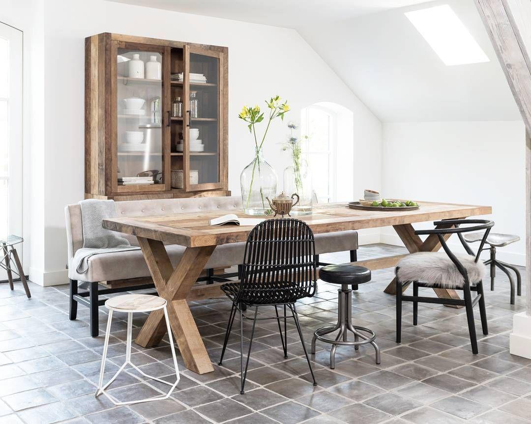 Hoe ziet jouw ideale eethoek eruit? #interior #inspiration #wood #instahome #home #instagood #Amstelveen
