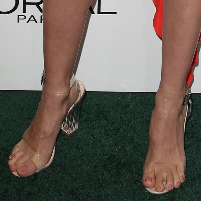 January jones feet