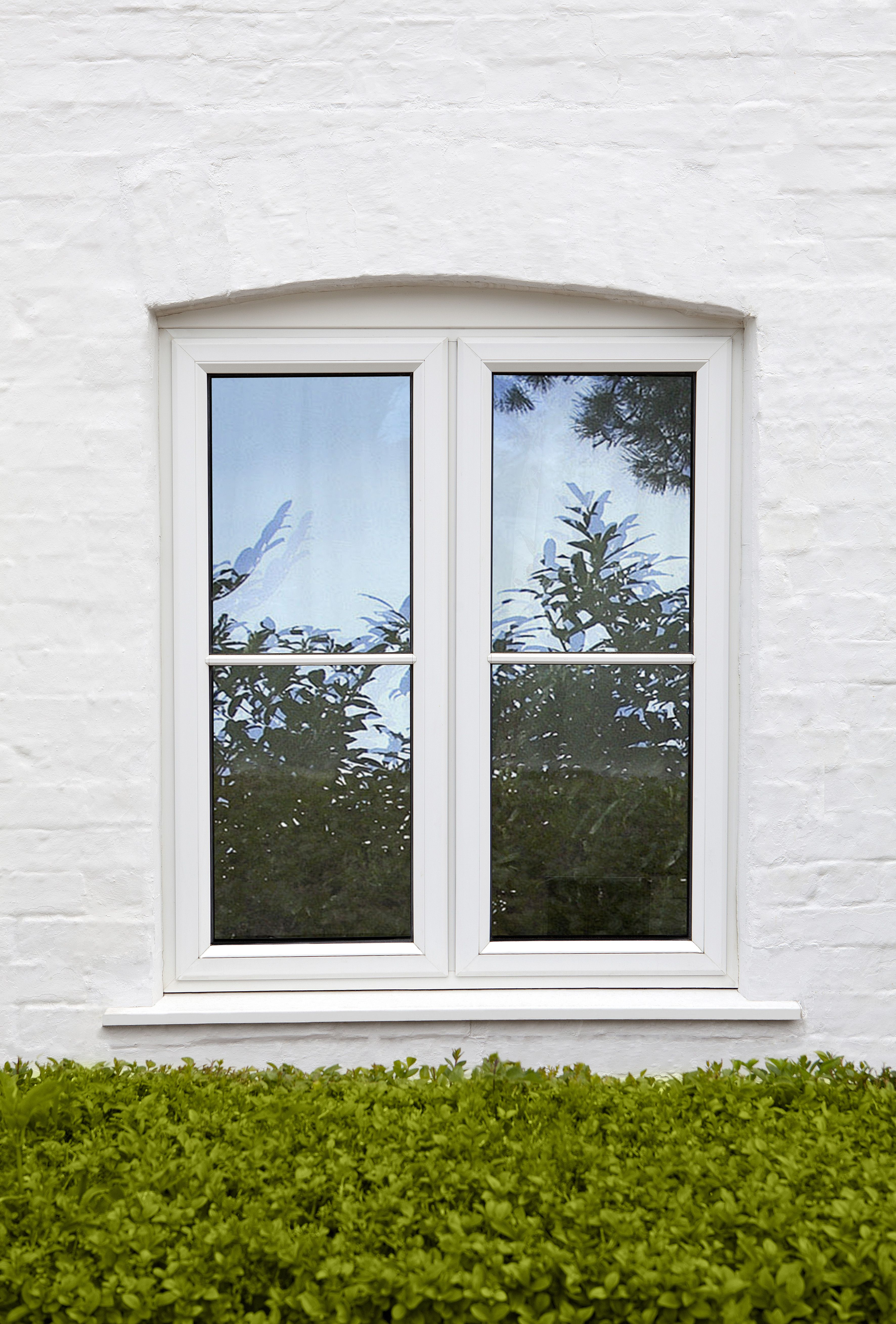Upvc window ideas  sandtex masonry paint in pure brilliant white  home  pinterest