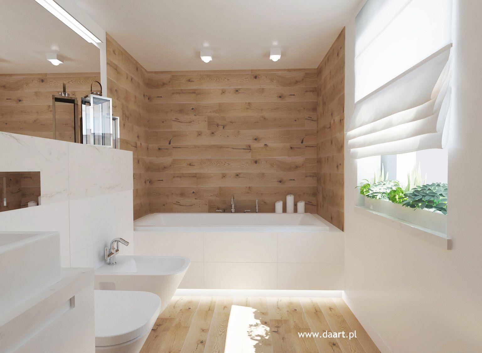 łazienki W Bieli Czerni I Drewnie Nowoczesna łazienka In