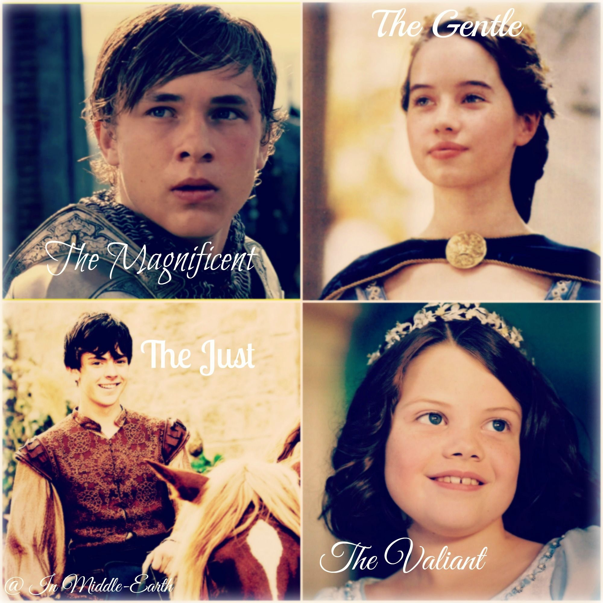 My Photo Edit Of Peter Susan Edmund And Lucy Love All Four Of