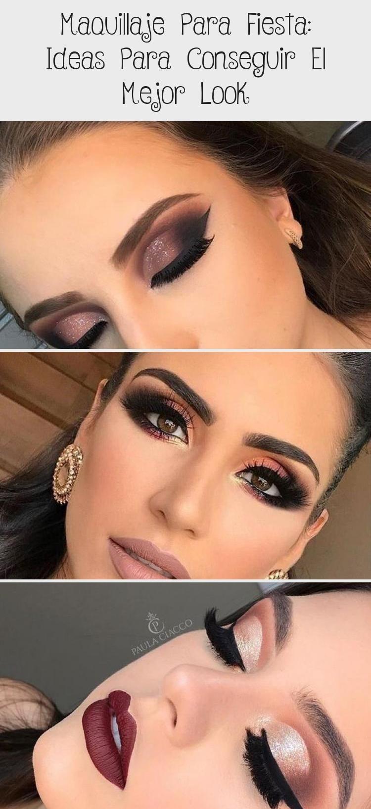Noche maquillaje de ojos