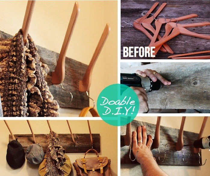 DIY Projects: Wall Hooks