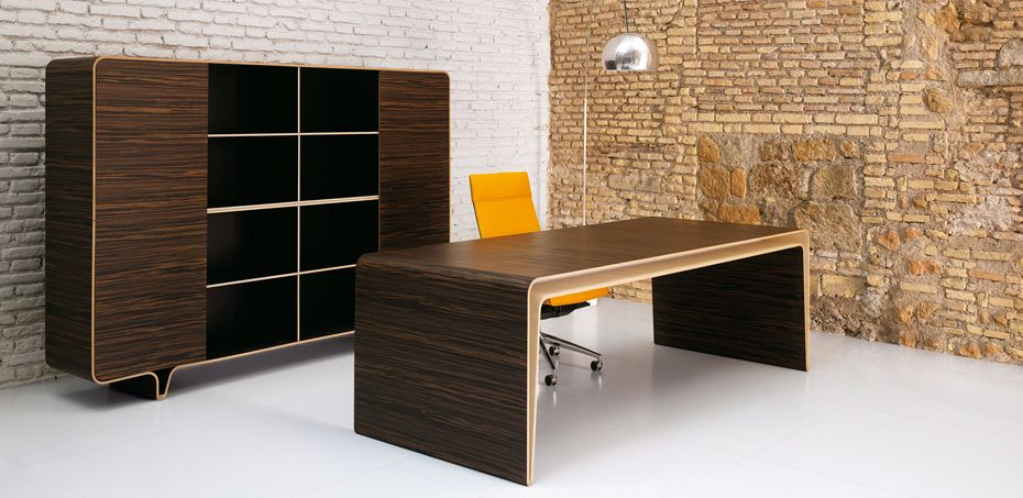 mumbai design executive desk by castelli designer fuksas officefurnitureitaly - Designer Executive Desk